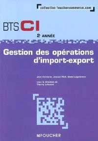 Gestion des opérations d'import-export, BTS CI 2e année : livre de l'élève