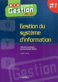 Gestion du système d'information : A5.3-A7.1