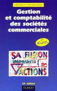 Gestion et comptabilité des sociétés commerciales