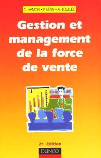 Gestion et management de la force de vente