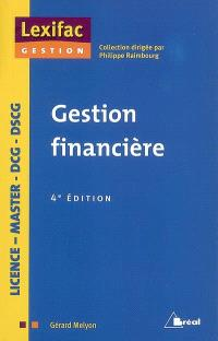 Gestion financière : licence, master, DCG, DSCG