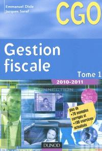 Gestion fiscale. Volume 1