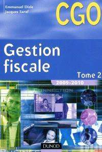 Gestion fiscale. Volume 2, Manuel