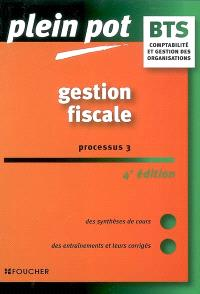 Gestion fiscale, processus 3 : comptabilité et gestion des organisations