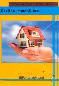 Gestion immobilière : BTS professions immobilières, licence