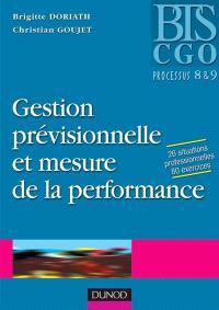 Gestion prévisionnelle et mesure de la performance : processus 8 et 9