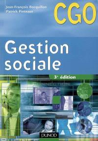 Gestion sociale : processus 2 : gestion des relations avec les salariés et les organismes sociaux