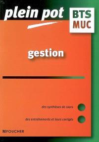 Gestion, BTS MUC