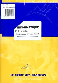 Informatique pour BTS commerce international