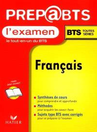 L'examen français BTS