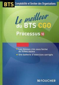 Le meilleur du BTS CGO, processus 10