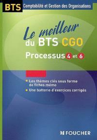 Le meilleur du BTS CGO, processus 4 et 6