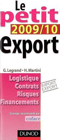 Le petit export 2009-2010