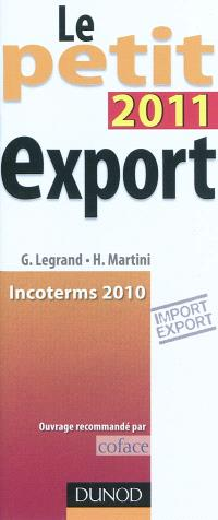 Le petit export 2011 : incoterms 2010