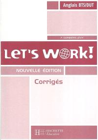 Let's work ! : corrigés