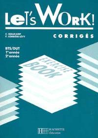 Let's work, BTS-DUT, 1re année 2e année : corrigés
