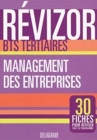 Management des entreprise, BTS tertiaires