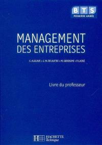 Management des entreprises : BTS, première année : livre du professeur
