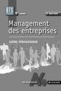 Management des entreprises BTS 1re année : guide pédagogique