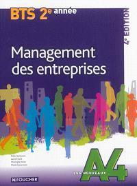 Management des entreprises, BTS tertiaires 2e année