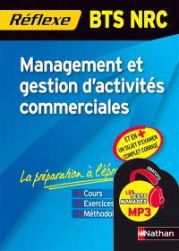 Management et gestion d'activités commerciales : BTS NRC