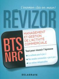 Management et gestion de l'activité commerciale, BTS NCR