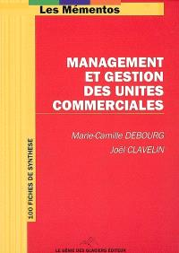 Management et gestion des unités commerciales