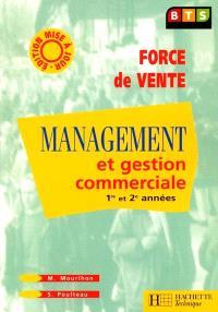 Management, BTS force des ventes : livre de l'élève