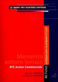 Mémento actions terrain BTS Action commerciale