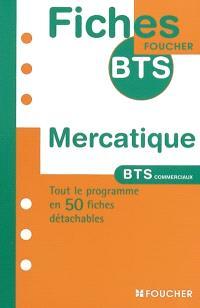 Mercatique : BTS commerciaux, 1re et 2e années