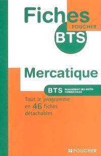 Mercatique, BTS management des unités commerciales