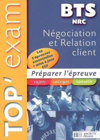 Négociation et relation BTS NRC