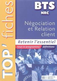 Négociation et relation client BTS NRC : retenir l'essentiel