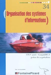 Organisation des systèmes d'informations, BTS comptabilité et gestion des organisations, 1re année