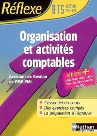 Organisation et activités comptables, BTS assistant de gestion PME-PMI