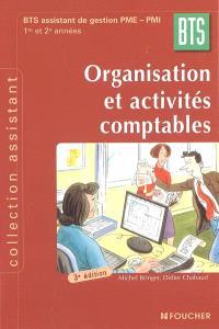 Organisation et activités comptables, BTS assistant de gestion PME-PMI : 1re et 2e années