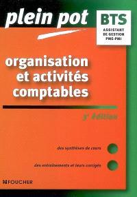 Organisation et activités comptables, BTS assistant de gestion PME-PMI, Instituts universitaires de technologie