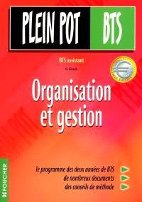 Organisation et gestion : BTS assistant