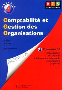 P10 : organisation du système d'information. Volume 1, BTS CGO : livre de l'élève
