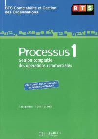 Processus 1 BTS : gestion comptable des opérations commerciales : BTS comptabilité et gestion des organisations