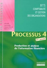 Processus 4 : production et analyse de l'information financière, BTS CGO 2ème année