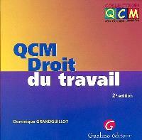 QCM droit du travail