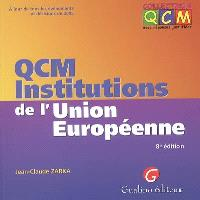 QCM institutions de l'Union européenne