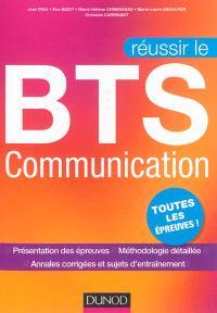 Réussir le BTS communication