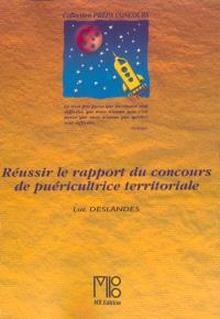 Réussir le rapport du concours de puéricultrice territoriale