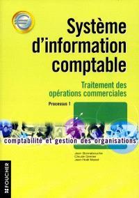 Système d'information comptable : traitement des opérations commerciales : processus 1