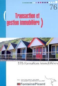 Transaction et gestion immobilière, BTS formations immobilières