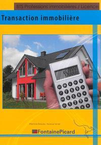 Transaction immobilière : BTS professions immobilières, licence