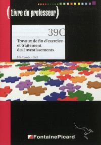 Travaux de fin d'exercice et traitement des investissements, BTS CGO 1re année : livre du professeur