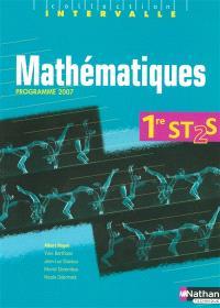 Mathématiques 1re ST2S